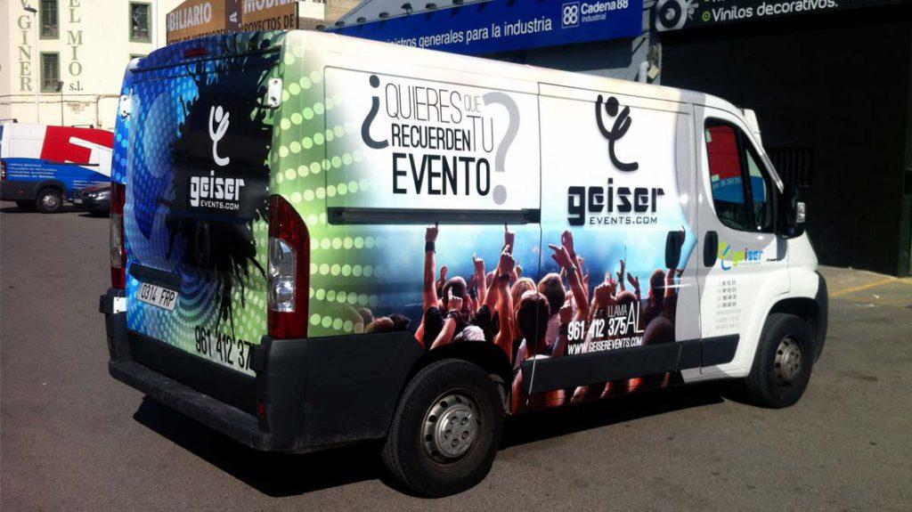 Geiser Events